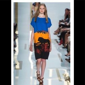 Diane Von Furstenberg HARRIET Lilan Lion Dress
